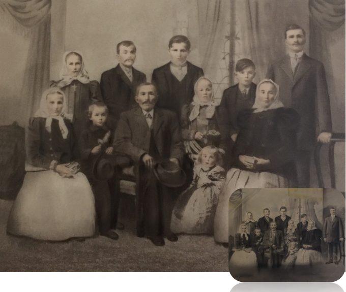 Family Sepia