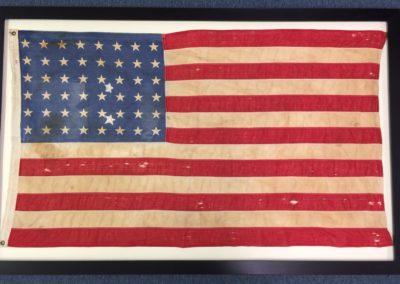 flag after
