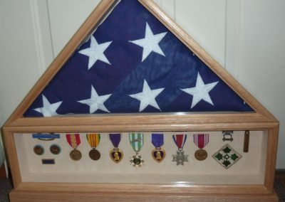 finished memorial w out name plate