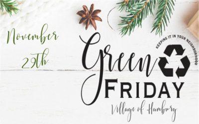 Green Friday – 11/29/19