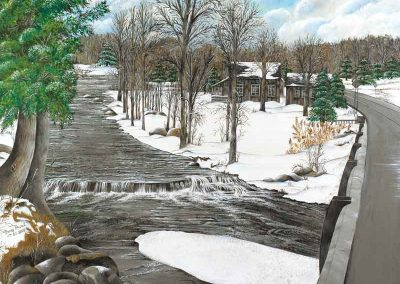ag2Babbling Brook in Winter
